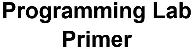プラグラミング・プライマー